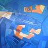Landschap: Nominatie Groene Hart - 2006 * Acryl op doek - 80x80
