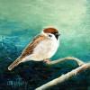 Musje II - 2010 * Acryl op doek - 12x10