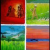 Indonesië - 2006 * Acryl op doek - 70x60