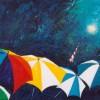 ...komt zonneschijn - 2003 * Acryl op doek - 30x40