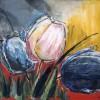 Tulpen - 1998 * Acryl op doek - 100x80