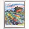 Landschap Duitsland - 2006 * Aquarel op papier - 24x18