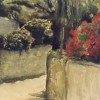 Straatje Griekenland- 2005 * Aquarel op papier - 40x60