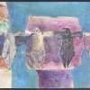 Rijdans - 2006 * Gemengde Techniek op paneel - 50x100