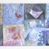 Uitgestoken Hand - 2011 nominatie Talens Palet 2011 - Gemengde techniek op doek - 50x100