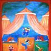 Circus - 2009 * Acryl op doek 60x30