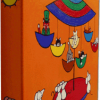 Oranje Muizen - 2004 * Acryl op doek 30x30