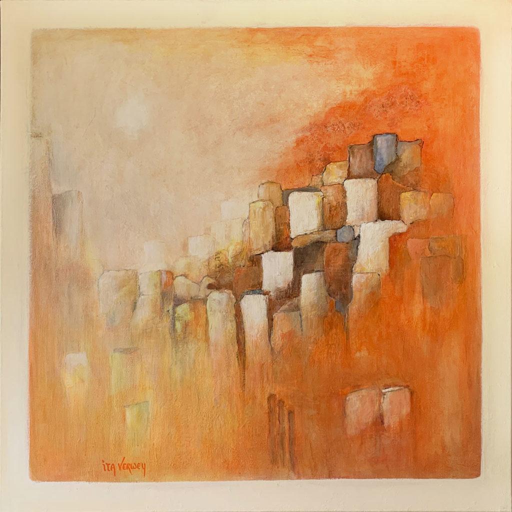 Toscane - Acryl op doek