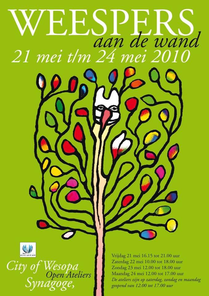 Weespers aan de Wand 2010 Poster